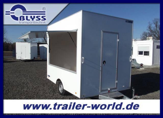 Blyss Verkaufsanhänger Anhänger 1300 kg 300x200x230cm