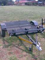 Bike trailer 2100mm x 1200mm and larger,Flat deck, Box and Side rails