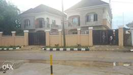 2nos 4brm hses with 1rm bq on 500sqm at Oduduwa Ikeja GRA N150m ea