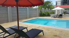 Two bedroom fully furnished holiday apartment with swimming pool