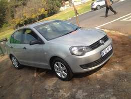2012 polo vivo sedan 1.6 silver in colour 73000km automatic R98000