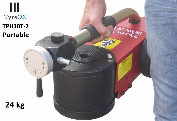 TyreOn Tph30t-2m Air-hydraulic Jack 30t- Two-stage - 2018