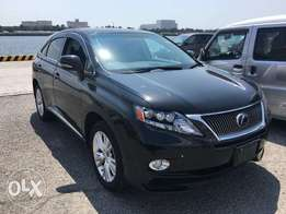2010 Lexus RX450h Hybrid & genuine Low Mileage