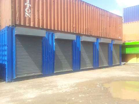 40 ft Containerized Stalls for Sale Industrial Area - image 3