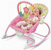 Baby rocking chair with melody