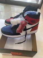 Nike Air Jordan 1 Retro Rozmiar 42 ; biało czarno czerwono