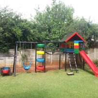 Jungle gyms and decking