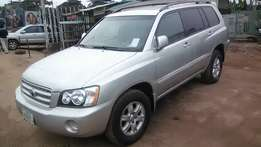 Very Clean Registered Toyota Highlander 03