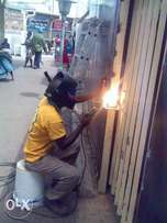 we do welding,painting and waterproofing