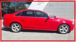 2014 Audi A4 1.8t Se Manual with only 65443kms