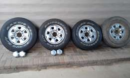 16 inch steel hilux rims wheels and tires