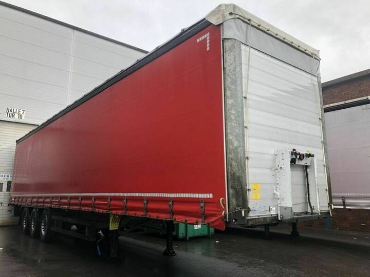 Schmitz Cargobull SCB*S3T, EDSCHA, Schmitz Achse, Liftachse, TOP - 2016