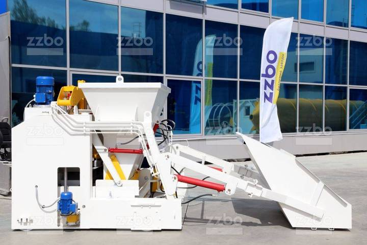 ZZBO Portable Block Making Machine With Hopper - 2019