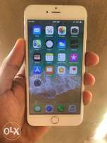 Gold iphone 6plus 16gig and clean