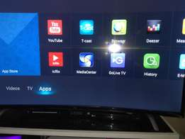 Tcl 48 inch curved smart tv