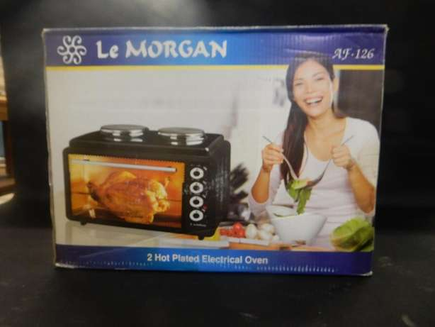 Le Morgan 2 Hotplated Electrical Oven Montana - image 1