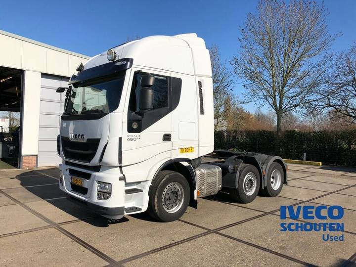 Iveco AS440S46TX/P 6X2 EURO VI 2013 manual 412.315 km - 2013