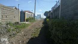 40 by 80 plot on quick sale in Ruiru Bypass