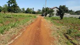 Quater acre 300ms from tarmac in a controlled area at Kikuyu Thogotto