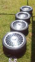 """17"""" Eagle rims and tyres"""