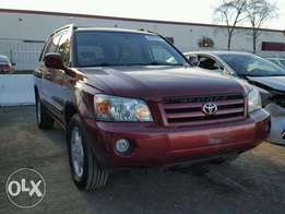 Clean and fresh Toyota Highlander