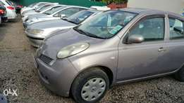 Nissan March, Silver , Year 2007, KCB, 1200cc Automatic transmission,