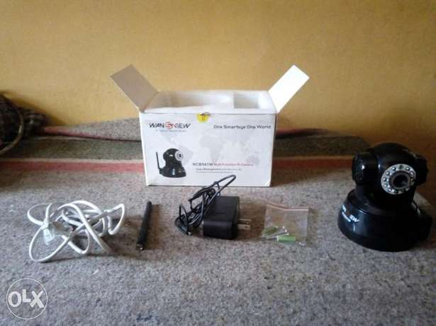 Multifunctional IP Camera With Sharp Night Vision (Wansview NCB541W) Lagos Mainland - image 1