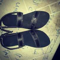 Fashion parallel male sandal