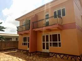 A two bedroom duplex for rent in kisasi