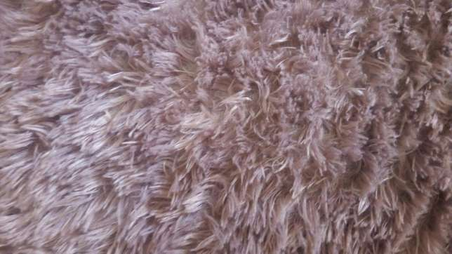 Rounded brown fluffy carpet Kasarani - image 2