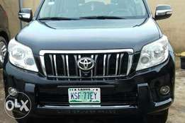 A clean regustered toyota landcruiser prado for sale, 2012 bought bran