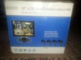 4Ch CCTV System: Complete