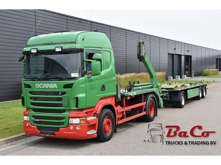 Scania R 480 HL - SKIPLOADER - RETARDER - EURO 5 - ONLY 407 TKM - - 2011
