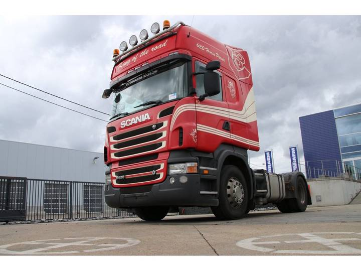 Scania R620+MANUAL+INTARDER+KIPHYDR. - 2010