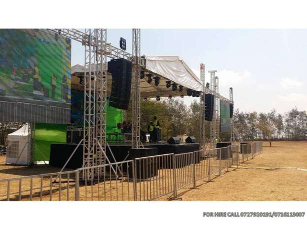 Public address, sound system,lights, led screens,stage & dj services Nairobi CBD - image 3