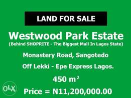 Plot Of Land At Westwood Park Estate With C of O Selling For N11.2m