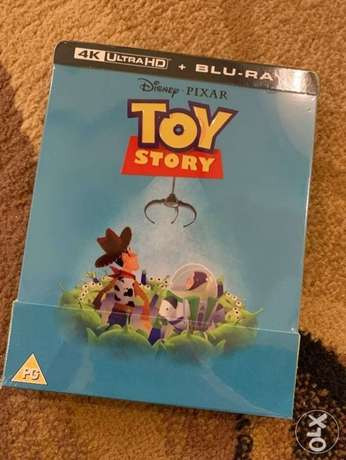 Toy Story limited edition 4K steelbook