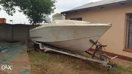 Cape Craft 24 foot on Trailer