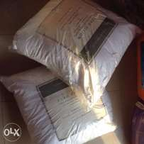 Euro Pillows 26x26 Set of 2 Square Pillow Shams for Decorative Bed