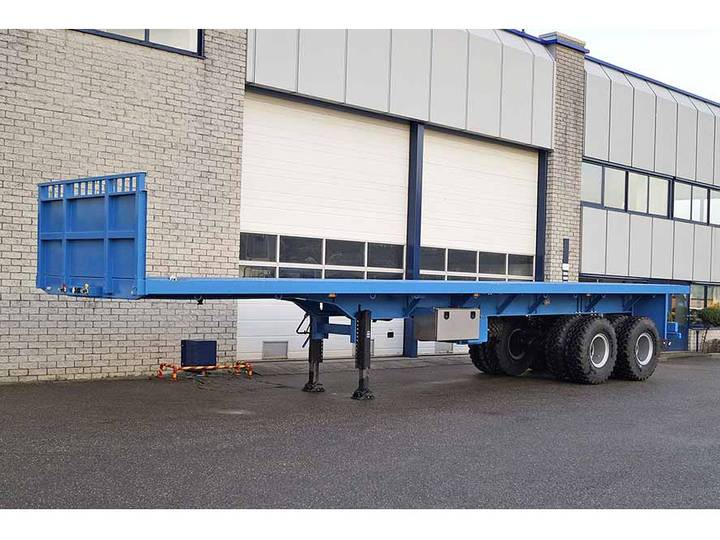 Invepe SPAF 2DBB 126 40 2 AXLE FLATBED TRAILER (7 units)