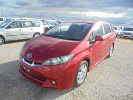 Toyota Wish New Shape 2010 Model 7 Seater Automatic 2WD Red