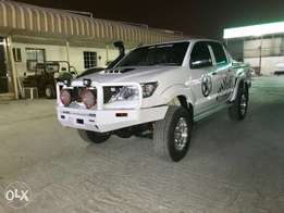 Toyota Hilux off road performance 2012