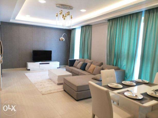Spacious 1 BR FF Apartment in Amwaj Island For Rent