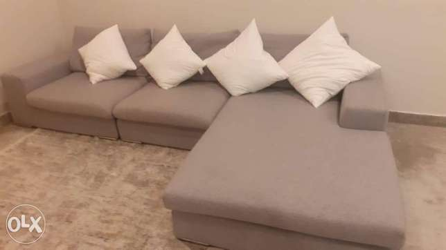 L shape sofa and bed for sale