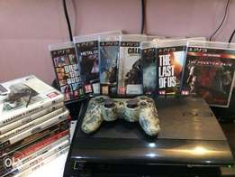 PS3 With 18 Games And 2 Controllers