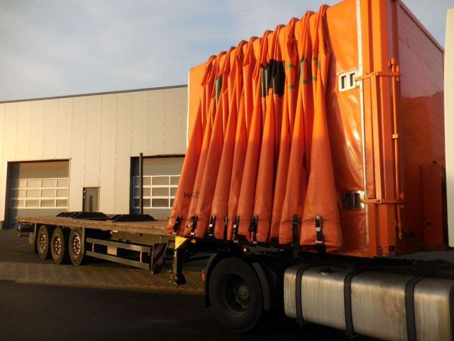 Schmitz Cargobull Cramaro Open Box Coil Geen Libner - 2009