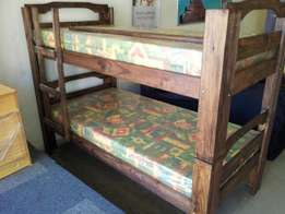 DOUBLE BUNK beds with mattresses for R2900