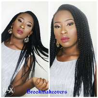 Makeup products and services available