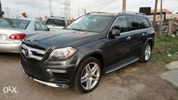 Recently Registered Grey Colored 2014 Mercedes -Benz GL 550 4matic.