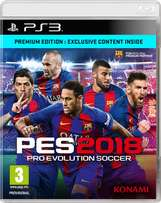 Get yourself a softcopy of pes 2018